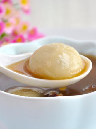 Red Date Tangyuan Soup recipe
