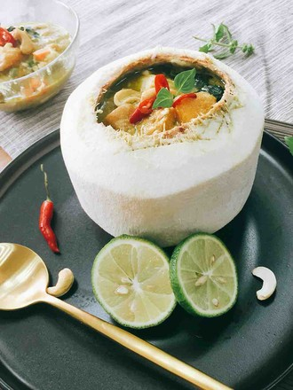 Green Curry with Seasonal Vegetables recipe