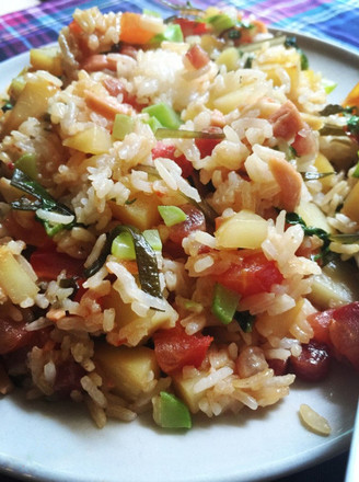 Potatoes and Vegetables Risotto recipe