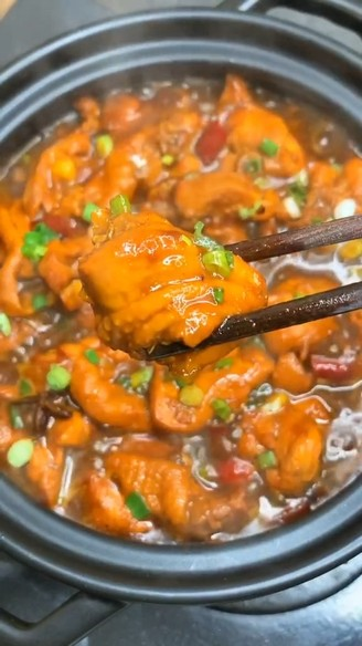 Home-cooked chicken stew recipe