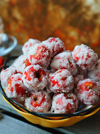 Hawthorn candy snowball-----a must-have for seasonal healthy snacks recipe