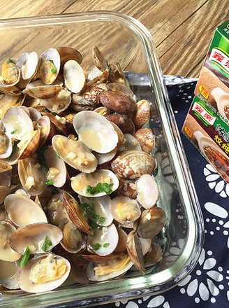 Clam in thick soup recipe