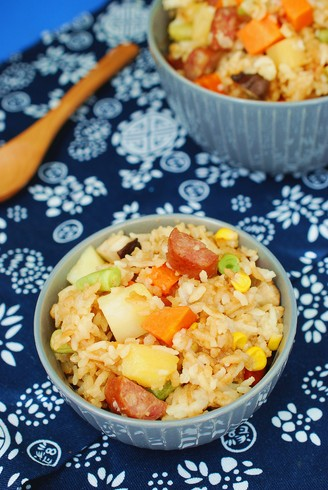 Nutritious and delicious lazy braised rice recipe