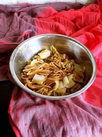 Old soup stewed cabbage vermicelli recipe