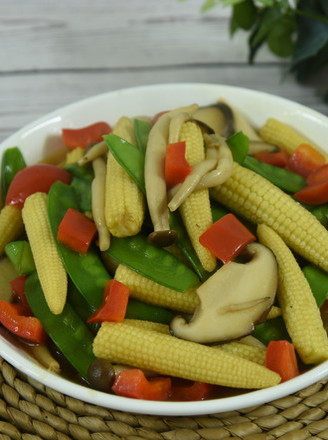When fried vegetables recipe
