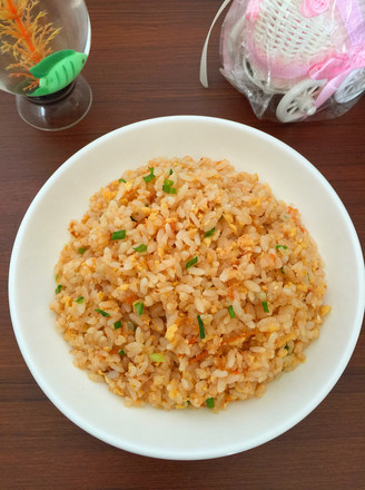Fried Rice with Tomato and Egg recipe