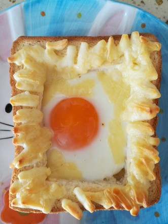 Cheese and Egg Baked Toast recipe