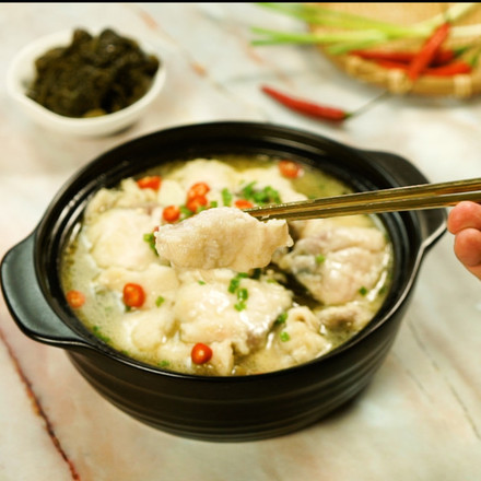 Fish in Hot and Sour Soup recipe