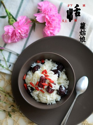 Risotto with Double Dates recipe